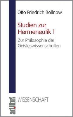 Studien zur Hermeneutik, Band 1